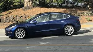 tesla model 3 great new high res look at blue release candidate