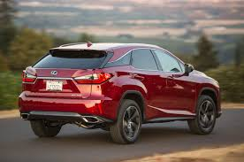 red lexus 2015 2016 lexus rx review
