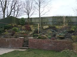 need ideas please for a steep slope gardening forum
