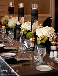 Wedding Table Setting Ideas Picture Of Spooky But Elegant Halloween Wedding Table Settings