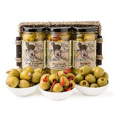 olive gift basket party gourmet spicy n olives martini