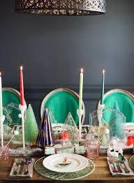 modern christmas table setting ideas weddbook