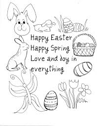 holiday easter printables free easter coloring pages rabbit