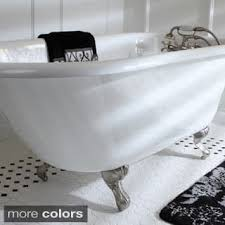 claw foot bathtubs claw foot tubs for less overstock com