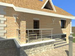 two storey house with a basement dwg