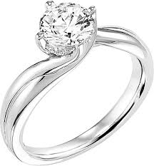 carved engagement rings carved diamond engagement ring ac 31 v303