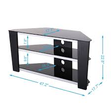 Corner Tv Cabinet For Flat Screens Tv Stands Tv Stands Amazon Com Rare Corner Stand For Inch Flat