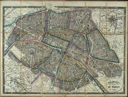 Map Of Paris France by