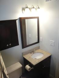 bathroom wood and iron bathroom lights lowes with 4 lights for