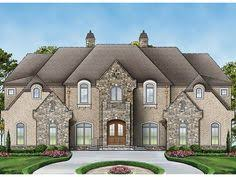 Chateau Home Plans Frenchcountry Houseplan 66026 Has 5306 Square Feet Of Living