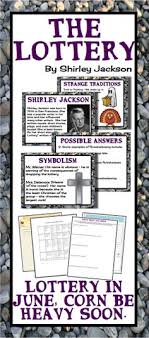 themes in the story the lottery in this activity students will identify themes and symbols from the