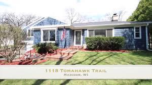 1118 tomahawk trail madison wi 53705 youtube
