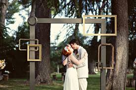 wedding backdrop frame whimsical diy wedding at highland springs resort