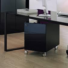 Schreibtisch In Schwarz Container Schreibtisch Metall Rollcontainer Schreibtisch