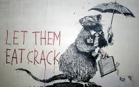 banksy wallpaper 31 eat crack jpg 1920 1200 verve pinterest banksy s famous mural wall street rat let them eat crack was found in new york city in the phrase