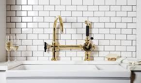 gold kitchen faucet excellent gold colored kitchen faucets the best