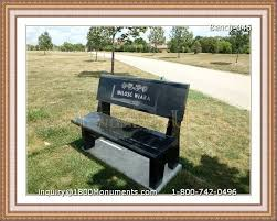 how much are headstones bench headstones