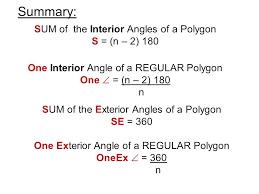 Interior Exterior Angles Exterior Angle Of A Regular Polygon Home Design