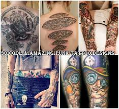 cool u0026 amazing punk tattoo designs