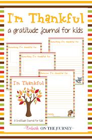 i u0027m thankful a gratitude journal for kids gratitude journal