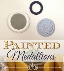 Home Decor For Your Style How To Make Painted Medallions Wall Decor The Crafty Blog Stalker