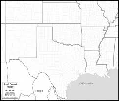 Black And White United States Map by Beautiful South Central United States Map Blank With United States
