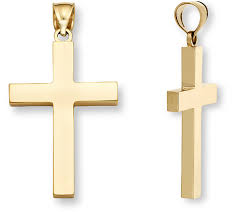 mens christian jewelry high quality gold cross necklaces for men applesofgold