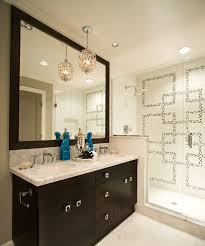Espresso Bathroom Mirrors Turquoise Foo Dogs Contemporary Bathroom Kelly Deck Design
