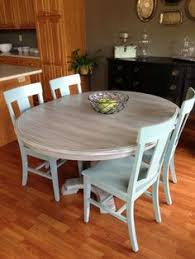 kitchen tables furniture swoon that seals it i m painting the playroom chairs this blue