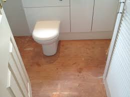 unique bamboo flooring in bathroom homesfeed