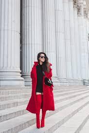 teddy coat red coats u0026 red boots wendy u0027s lookbookwendy u0027s lookbook