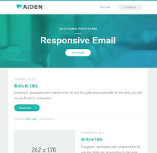 30 beautiful email newsletter templates