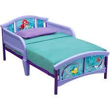 little mermaid bedroom little mermaid plastic toddler bed walmart com