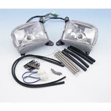 goldwing driving lights reviews show chrome driving lights 52 595 motorcycle goldwing dennis kirk