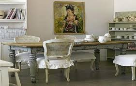 dining table shabby chic dining table and chairs ebay refinished