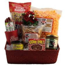 Wisconsin Gift Baskets Good Things For The Badger Fan Northern Harvest Gift Baskets