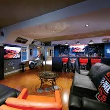 A Bikers Home Improvement The Harley Family Room - Cool family rooms
