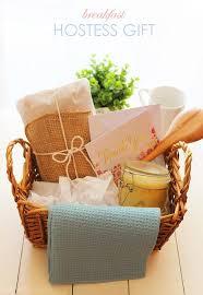 breakfast gift baskets breakfast hostess gift
