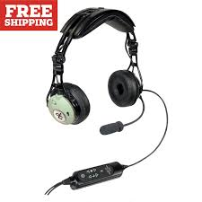 david clark dc pro xa headset airbus with xlr from sporty u0027s