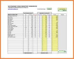Restaurant Inventory Spreadsheet by Inventory Spreadsheet Template Free Resume Characterworld Co