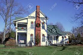 old houses decorated for christmas u2013 decoration image idea