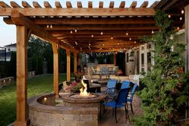 Patio Cover Lights Cool Backyard Patio Covers To Get Cover Design Ideas From Decohoms