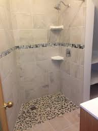 Universal Design Bathrooms Curbless Shower Install In A Non Conforming Bathroom Area Remodel