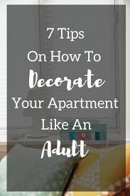 a blonde u0026 a briefcase 7 tips on decorate your apartment