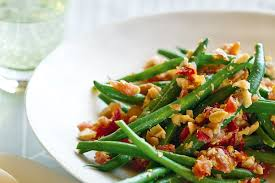 green bean salad with spicy thai dressing recipes delicious com au