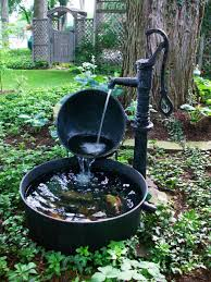 fresh cool diy outdoor water fountain ideas with make images