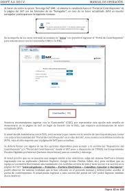 instala java para abrir el sitio del sat youtube sistema para obtener validar administrar revisar y analizar
