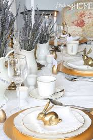 Easter Home Decorating Ideas by 33 Easter Table Decorations Centerpieces For Easter Home
