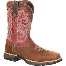 womens boots work rebel by durango s waterproof composite toe