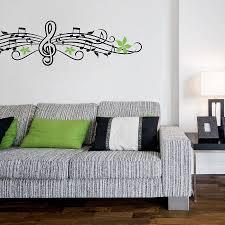 musical notes wall sticker wall sticker wall decals and shelving musical notes wall sticker